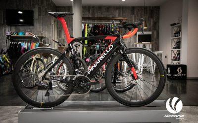 Pinarello Nytro + Shimano DI2 electrónico en Victoria Cycling