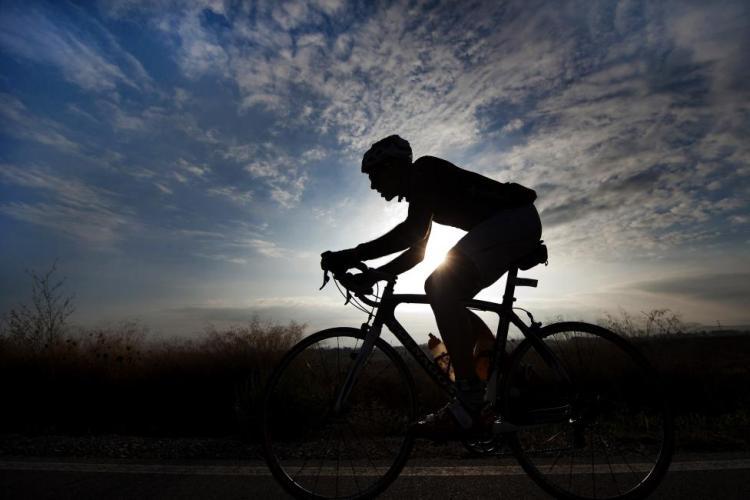 Entrena con tu bici a primera hora de la mañana